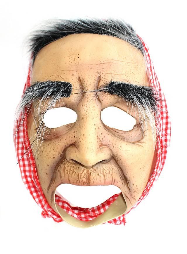 Alte Oma Kinnlose Maske