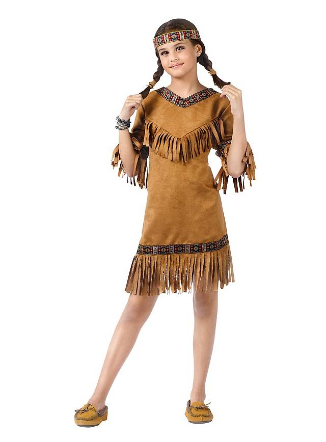 American Indian Girl Kids Costume
