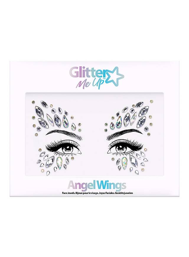 Angel Wings Face Jewels Gesichtsschmuck
