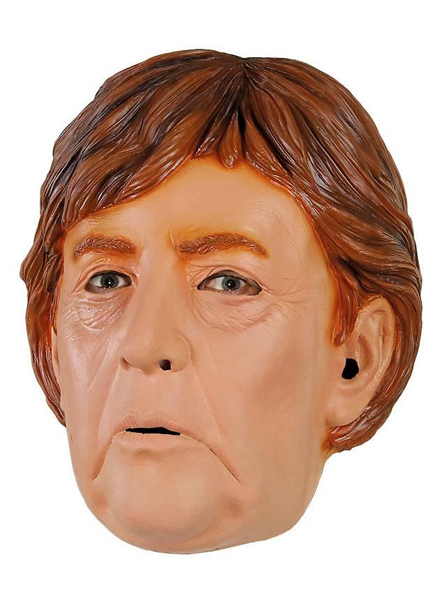 Angela Merkel Politikermaske