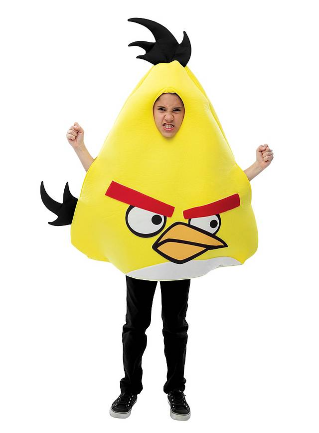 Angry Birds Kinderkostüm gelb