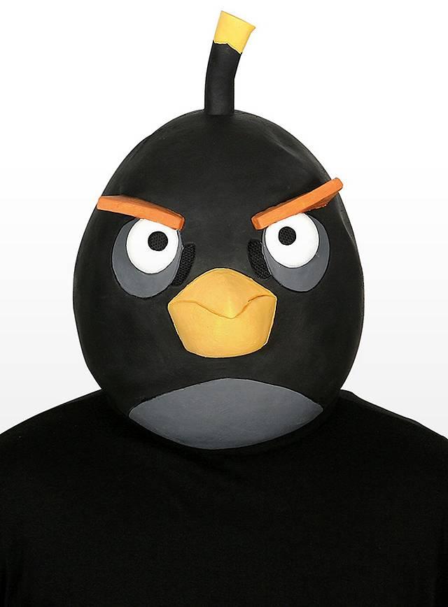 Angry Birds Maske schwarz
