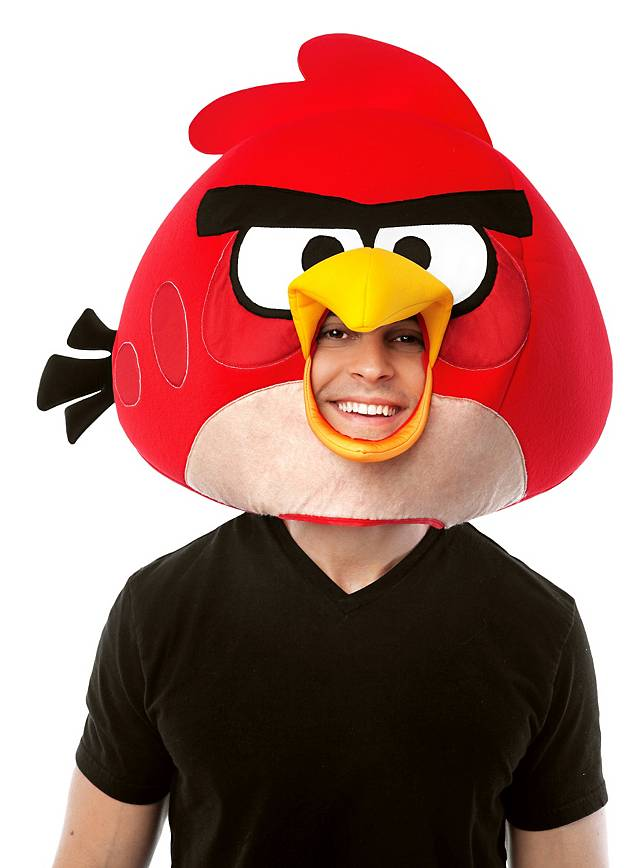 Angry Birds Red Bird Latex Full Mask