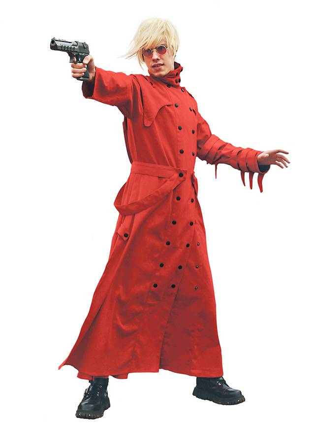 Anime Mantel rot