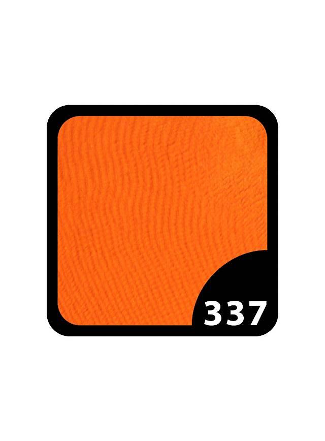 Hochwertige Wasserschminke in orange mit 12 Gramm Inhalt