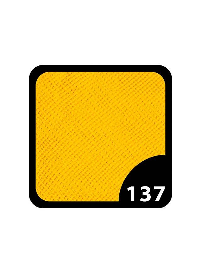 Hochwertige gelbe UV-Wasserschminke mit 12 Gramm Inhalt