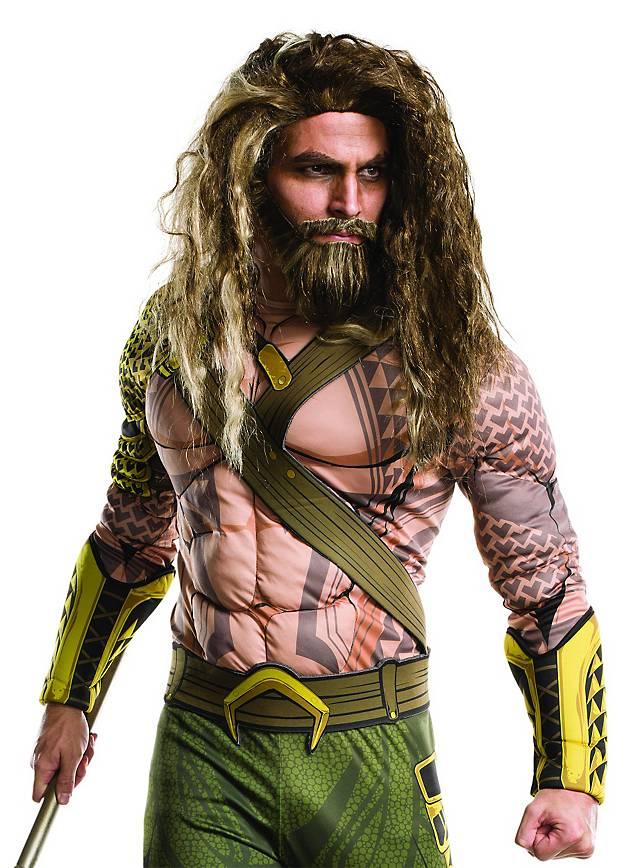 Aquaman Bart mit Perücke