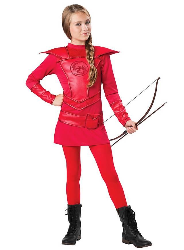 Archer costume for kids, female