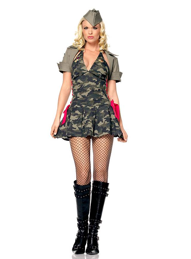 Army Cadet Costume Costume