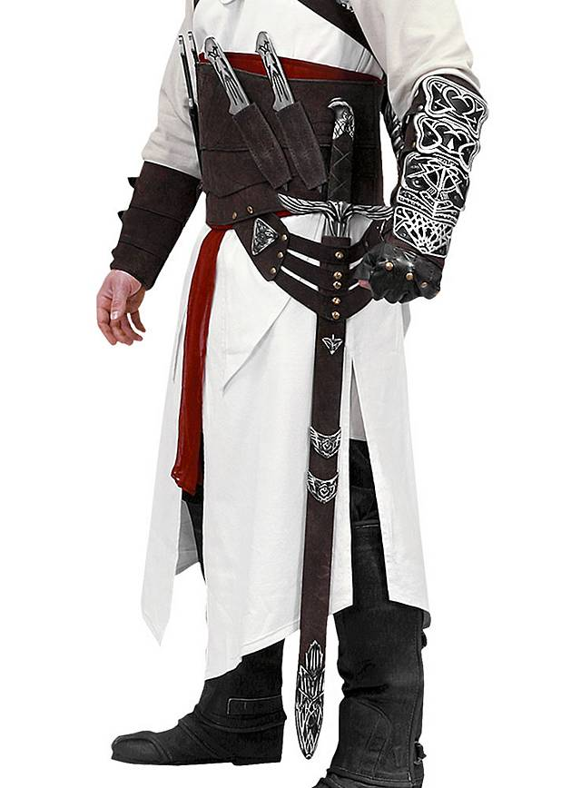 Assassin S Creed Altair Leather Belt Maskworld Com