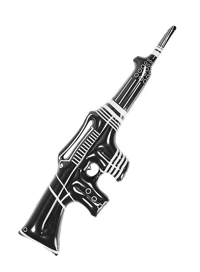 Aufblasbares Maschinengewehr