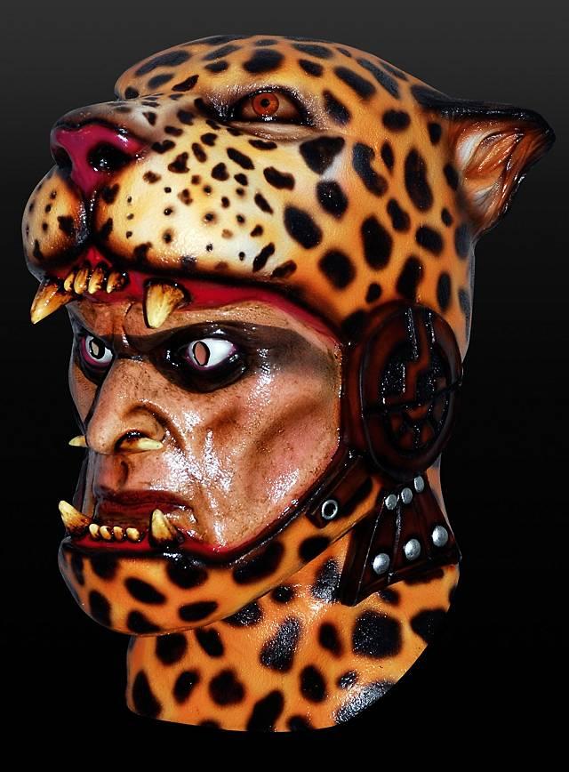 Azteken Schamane Maske Aus Latex