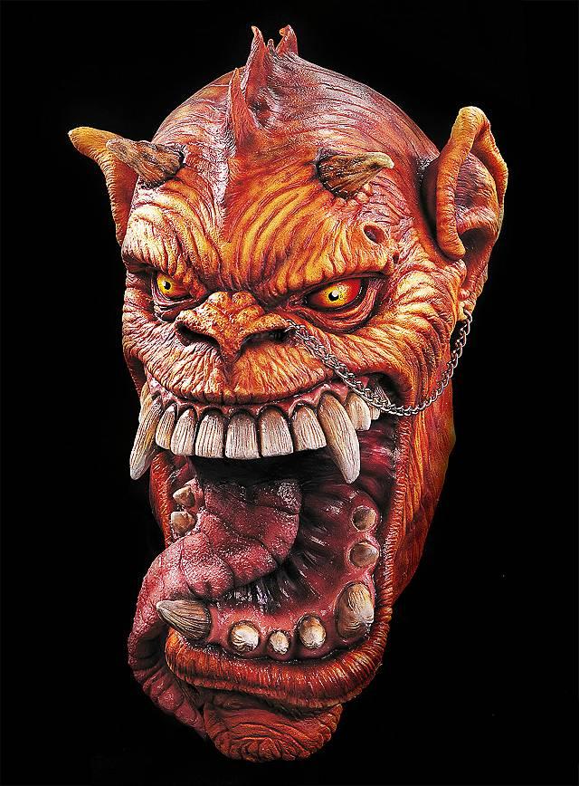 Baal Maske aus Latex