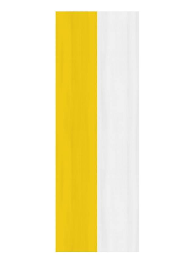 Banner gelb-weiß