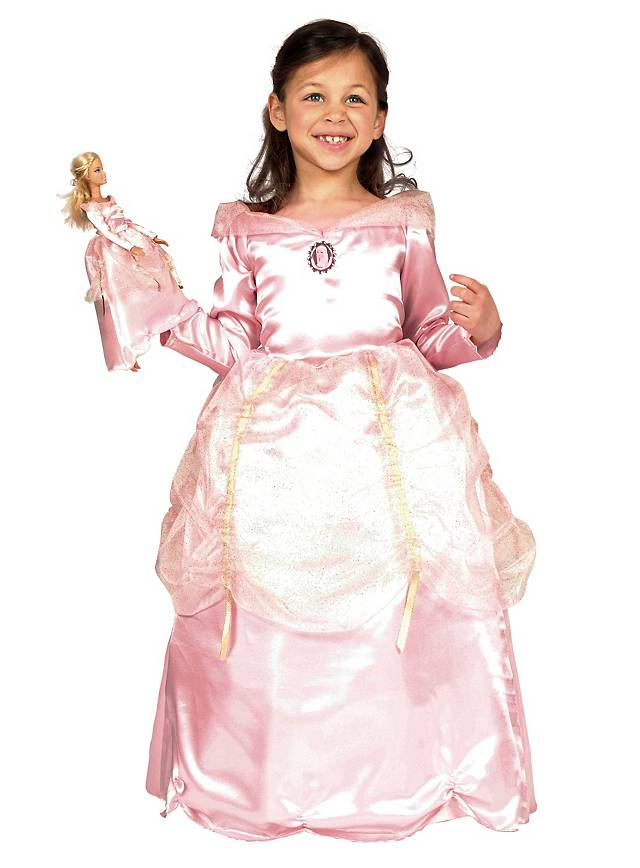 Barbie Princess pink Kids Costume