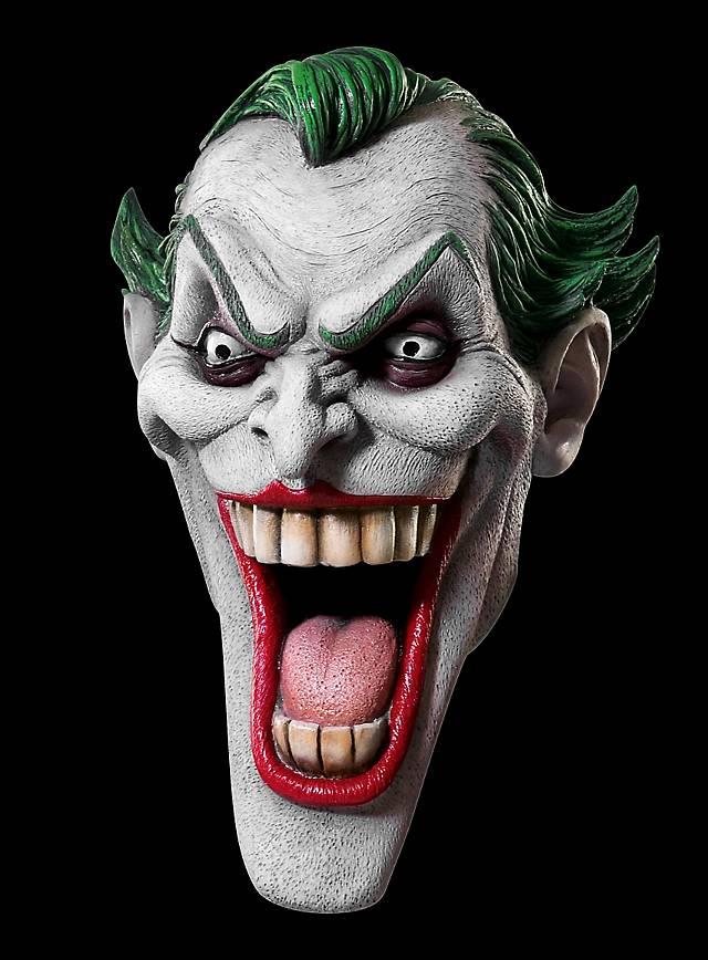 batman original joker classique masque en latex. Black Bedroom Furniture Sets. Home Design Ideas