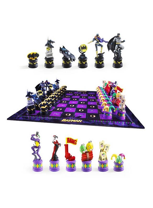 Batman - Schachspiel Retro