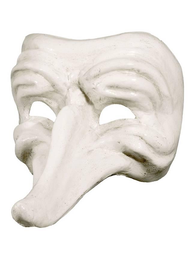 Batocchio bianco - Venezianische Maske