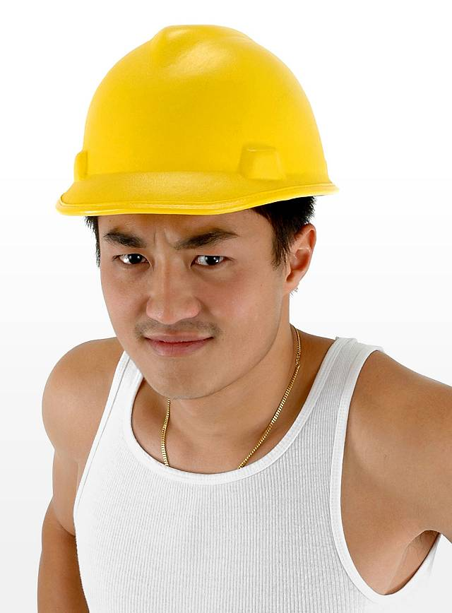 Bauarbeiterhelm Maskworld Com