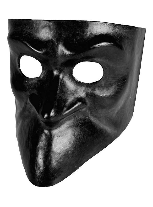 Bauta nera - masque vénitien