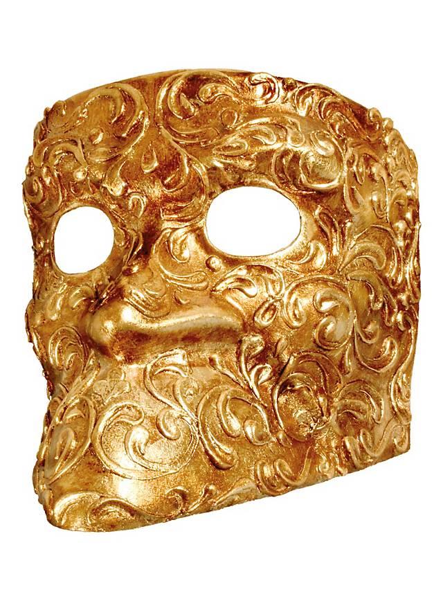 Bauta stucco oro - masque vénitien