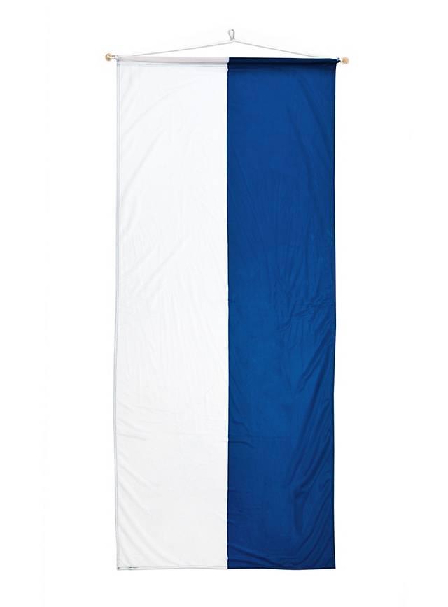 Bayerisches banner wei blau for Bayerische dekoartikel