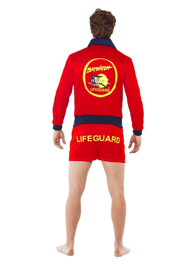 Baywatch Head Lifeguard Costume - maskworld.com
