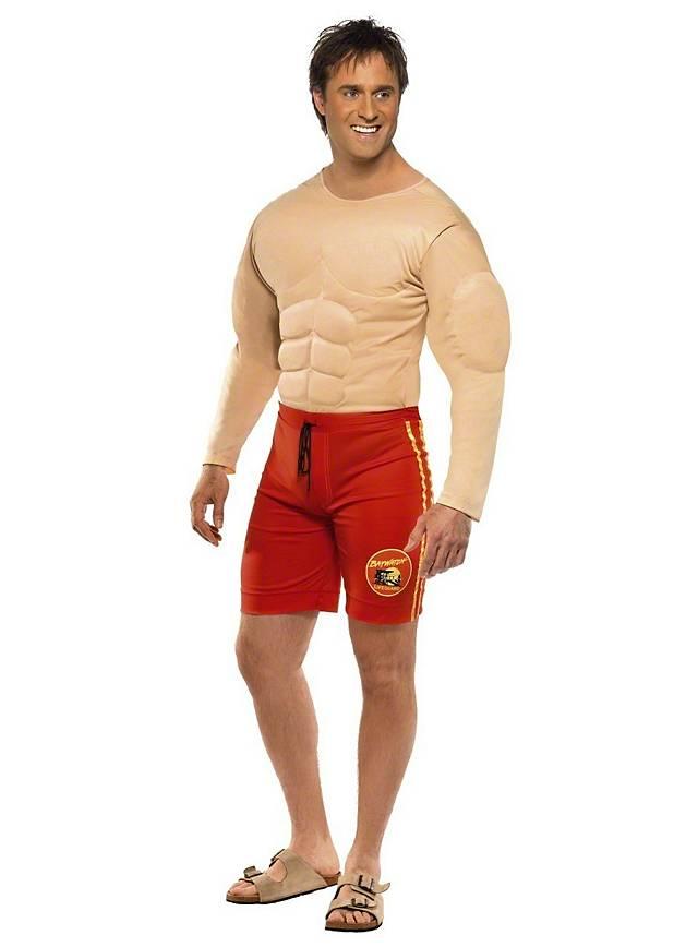 Baywatch Rettungsschwimmer Kostüm für die Paarkostüm Mottoparty