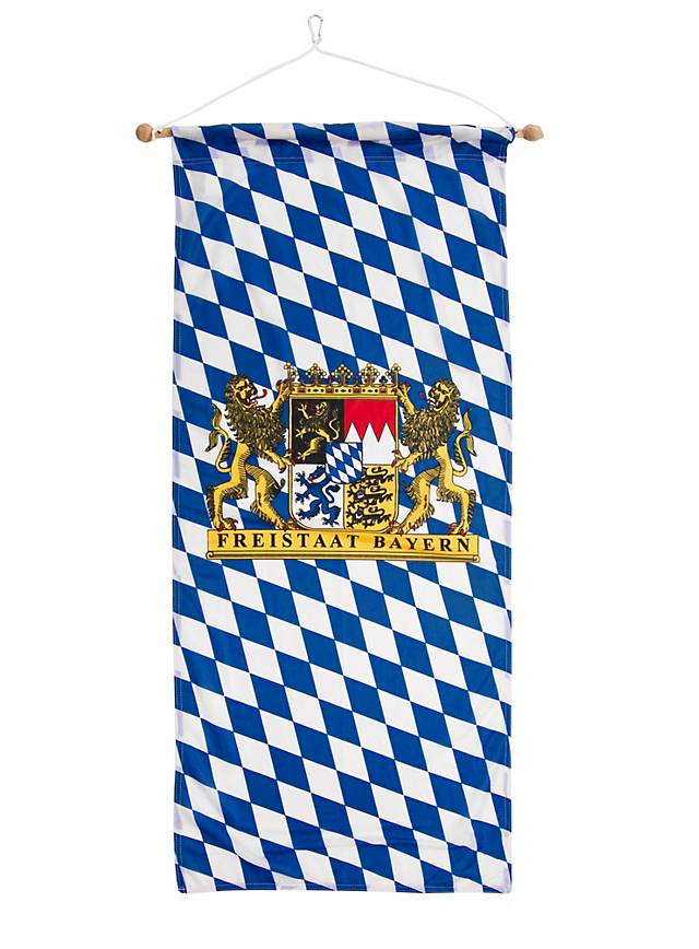 Beer Garden Banner With Lion S