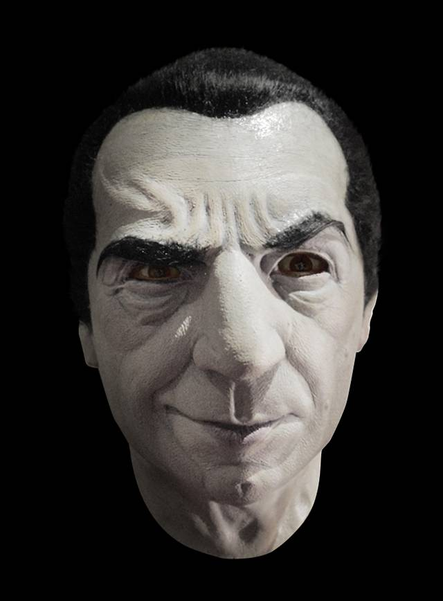 Bela Lugosi Dracula Latex Full Mask - maskworld.com