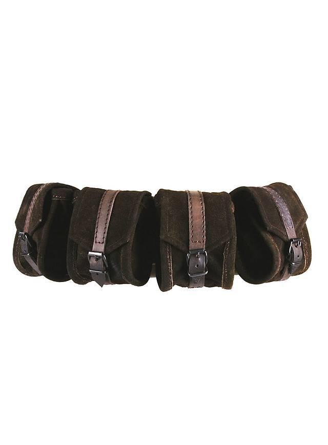 Belt Pouch Set brown