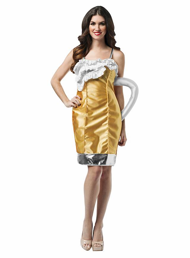 Bierkrug Kleid Kostüm