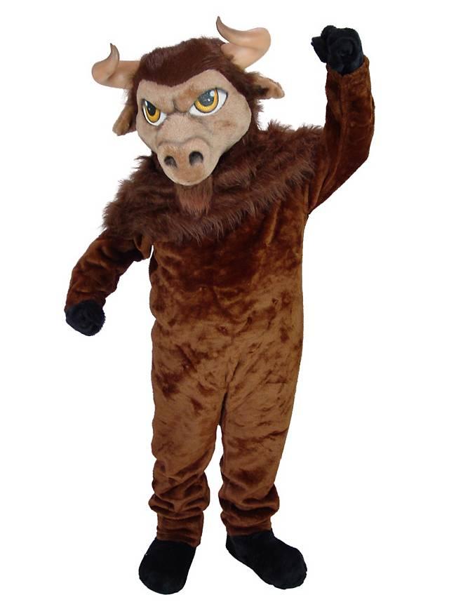 Bison Maskottchen