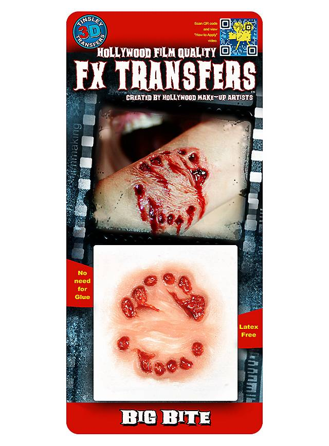 Bisswunde 3D FX Transfers
