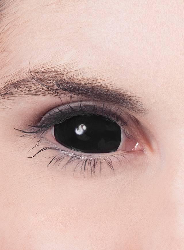 a859be34dda Black Sclera Contact Lenses - maskworld.com