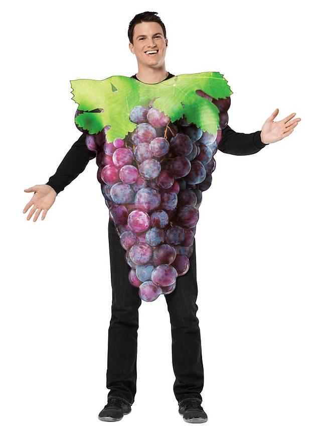 Blaue Weintrauben Karnevalskostüm