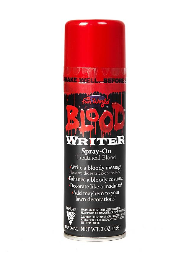 Blut Graffitispray