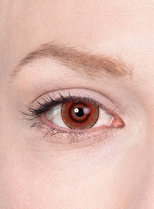 Kontaktlinsen für den Zombie Schminktipp