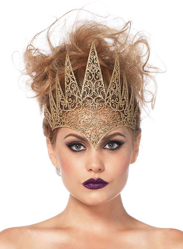 Böse Königin Krone gold