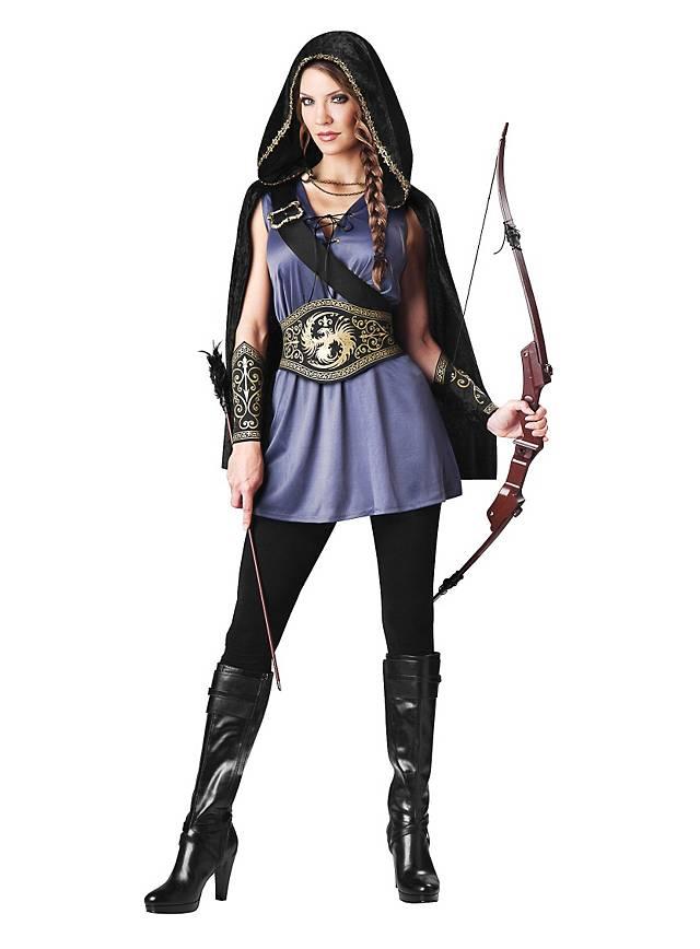 Bogenschützin Kostüm