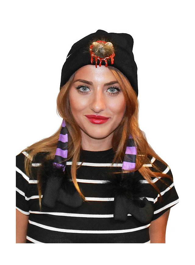 Bonnet d'Halloween souris