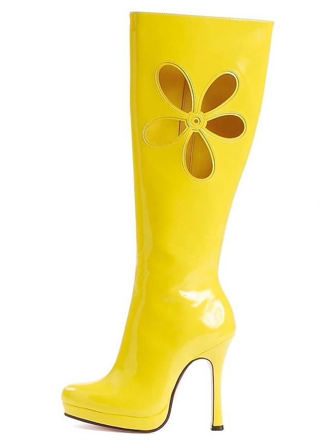 Chaussures jaunes Hippie femme BT1Agk