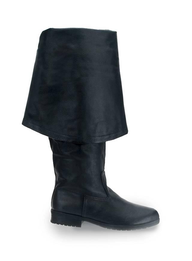 Bottes de mousquetaire Homme noir