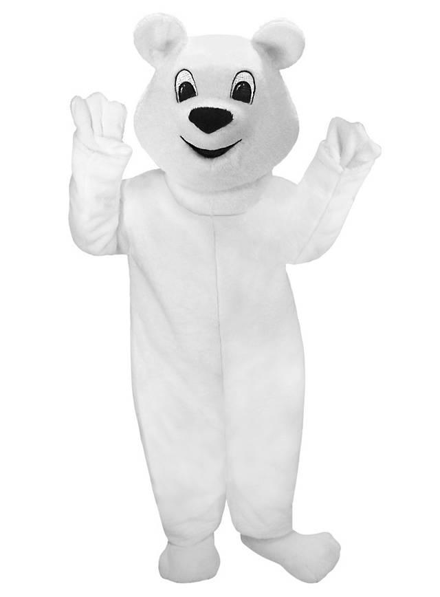 Boule de neige l'ours polaire Mascotte