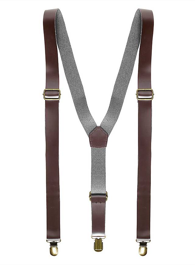 Braces leather look