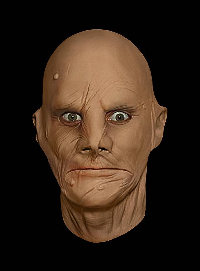 Brandopfer Maske aus Schaumlatex