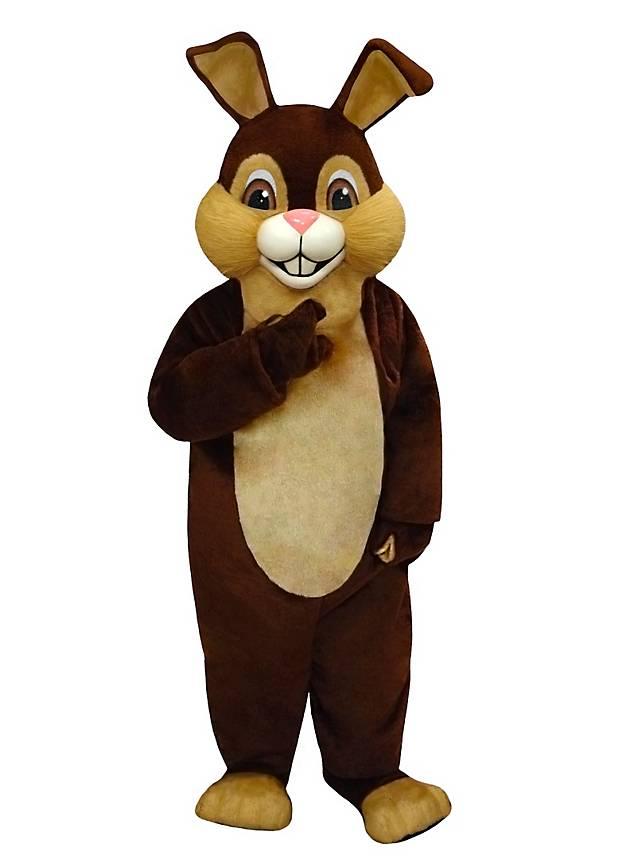 Braunes Kaninchen Maskottchen