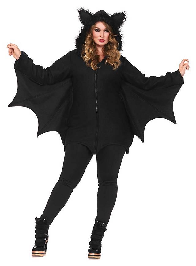 Brisk Bat Plus Size Hoodie Dress Maskworld