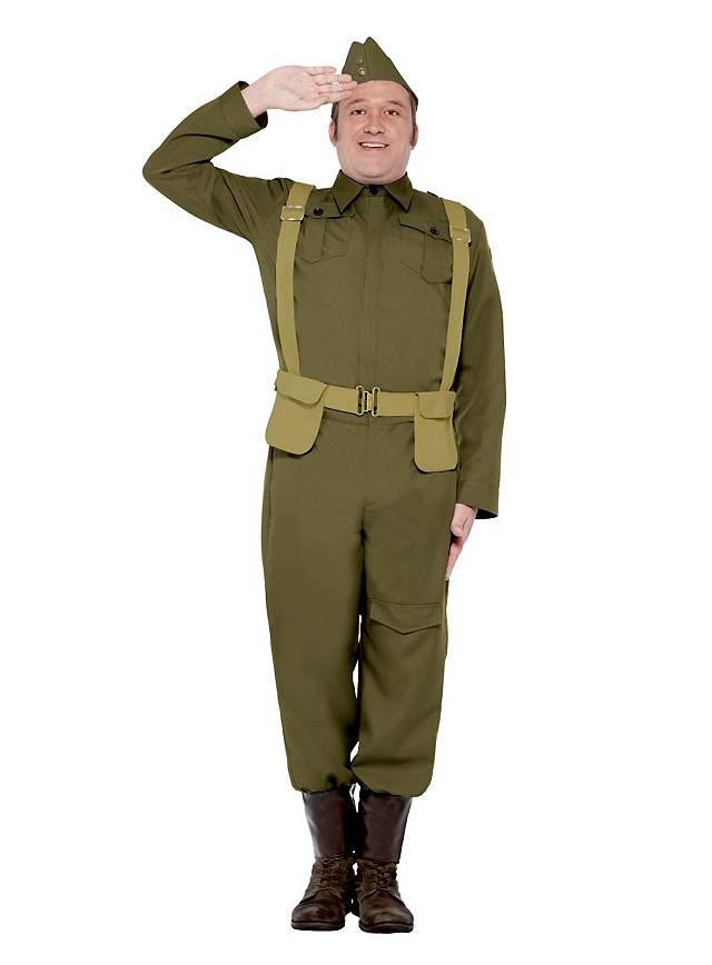britischer home guard soldat kost m. Black Bedroom Furniture Sets. Home Design Ideas
