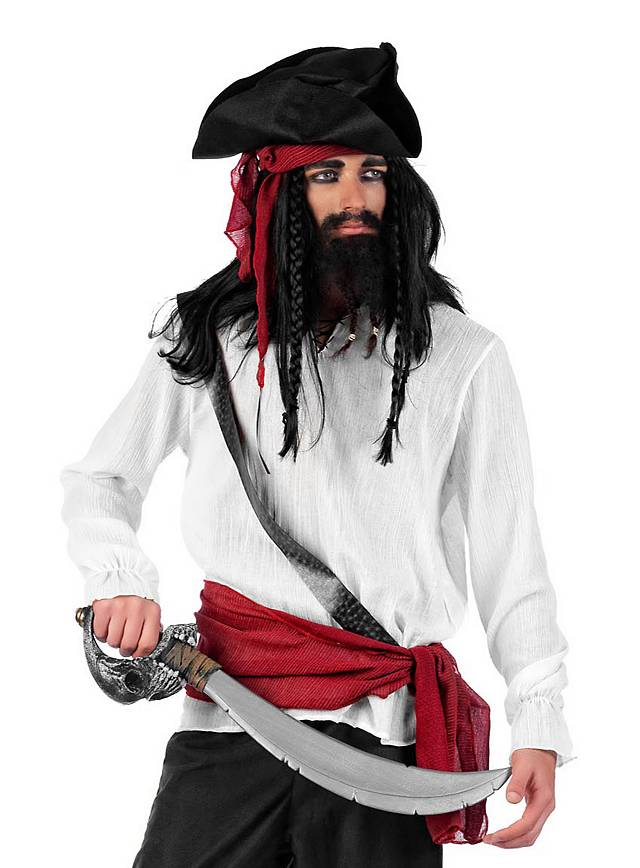 Buccaneer Shirt white Costume